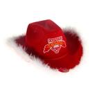 """Шляпа ковбойская """"Оседлаю любого"""", р-р. 56-58, цвет красный"""