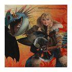 """Салфетки 33*33 см """"Драконы"""" (набор 20 шт) / Dragons"""