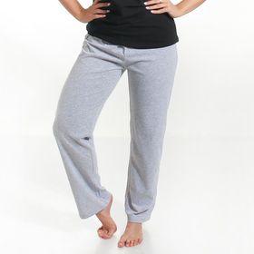 Брюки женские KAFTAN basic, цвет меланж, размер XS(42), хлопок 100%