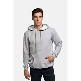 Джемпер мужской KAFTAN basic (М4), размер L(48), цвет меланж, хлопок 100%