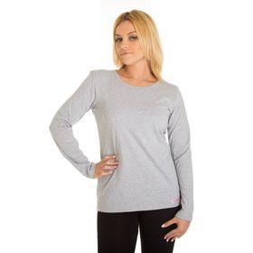 Джемпер женский KAFTAN basic, размер 2XL(52), цвет меланж, хлопок 100%