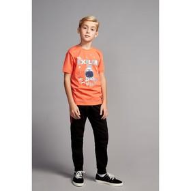 Футболка для мальчика, рост 128 см, цвет красный CSJ 61598