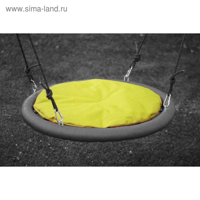 Подушка на качели 110 см, жёлтая