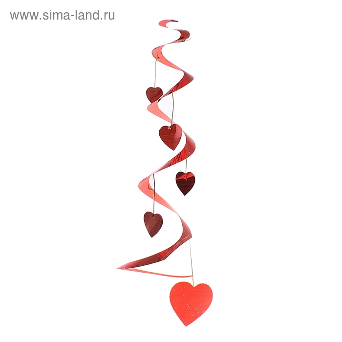 """Спираль """"Красные сердца"""""""