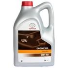 Моторное масло Toyota SL/CF 5W-40, 08880-80375, 5л