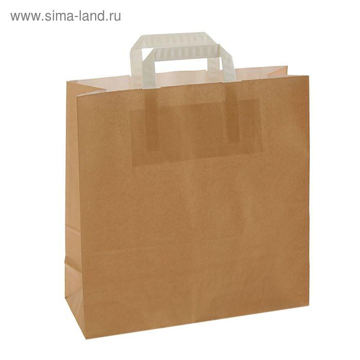 "Пакет крафт ""Капучино"", 32 х 12 х 32 см"