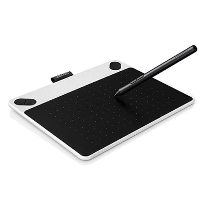 Графический планшет Wacom Intuos Draw Pen S CTL-490DW-N USB, белый