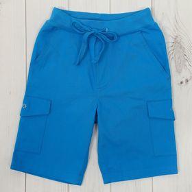 Шорты для мальчика, рост 110 см, цвет синий CK 7T065