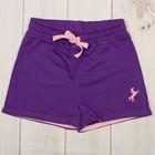 Шорты для девочки, рост 80 см, цвет фиолетовый CSB 7584_М
