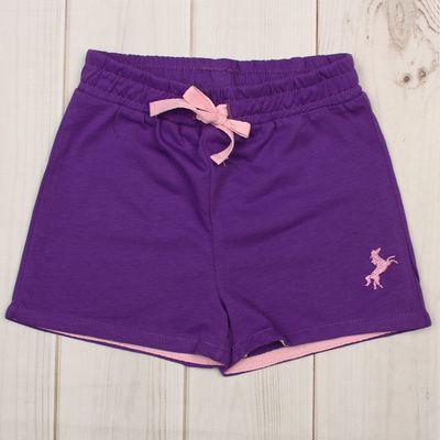 Шорты для девочки, рост 86 см, цвет фиолетовый CSB 7584_М