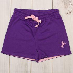 Шорты для девочки, рост 92 см, цвет фиолетовый CSB 7584_М