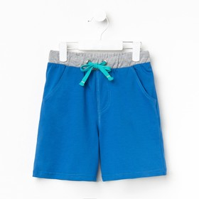 Шорты для мальчика, рост 110 см, цвет синий CSK 7585