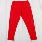 Легинсы для девочки, рост 158-164 см, цвет красный 1037