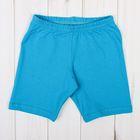 Бриджи для девочки, рост 98-104 см, цвет голубой 1038