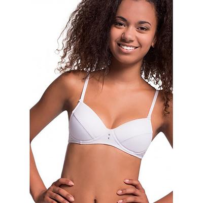 Бюстгальтер подростковый, размер 65A, цвет белый TBC 122