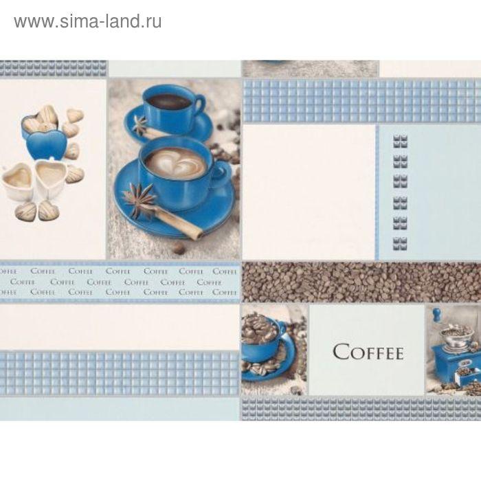 Обои виниловые 5563 (03) Корица чашка синяя 0,53х10 м
