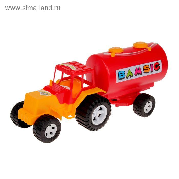 Трактор с бочкой МИКС