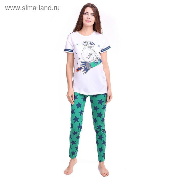 Комплект женский Р209101, размер 54, рост 158-164 см, цвет зелёный