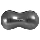 Мяч для фитнеса овальный, размер 77 х 40 х 40 см, 900 гр микс