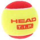 Мяч теннисный Head T.I.P Red, набор 3 штуки, фетр, натуральная резина