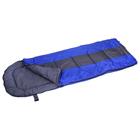Спальный мешок Dream 300 190+35Х75, мин -5С, цвет корич с син. полосой