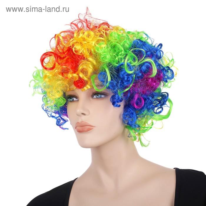 Карнавальные волосы разноцветные