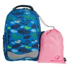 Рюкзак школьный эргономичная спинка для мальчика Bagmaster EV 004 43*34*20 + ПОДАРОК: мешок для обуви
