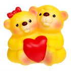 """Резиновая игрушка """"Влюбленные медвежата"""""""