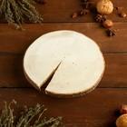 Спил ели, шлифованный с одной стороны, диаметр 15-20 см, толщина 2-3 см