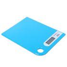 Весы кухонные электронные FIRST 6401-1-BL, до 5 кг, голубые