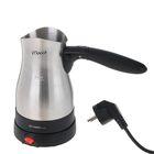 Кофеварка-турка FIRST FA-5450-1, 800 Вт, 0.35 л, складная ручка, черная