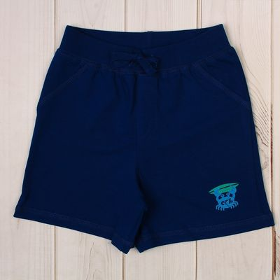 Шорты для мальчика, рост 80 см, цвет тёмно-синий CSB 7583_М