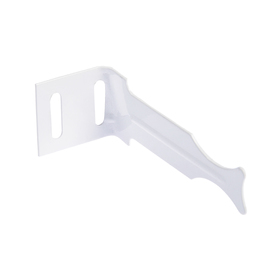 Кронштейн универсальный угловой для алюминиевых радиаторов. Ош