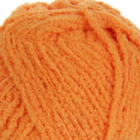 "Пряжа ""Softy"" 100% микрополиэстер 115м/50гр (336 оранжевый)"