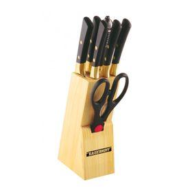 Набор ножей на подставке 8 предметов, Wellberg