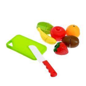 """Набор продуктов для нарезки """"Фруктики"""", на липучках, 8 предметов"""