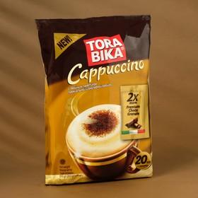 "Быстрорастворимый капучино ""ToraBika""шоколадной крошкой  (25 гр х 20 шт х 12 бл)"