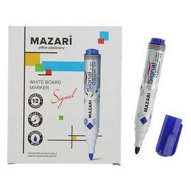 Маркер для доски и флипчарта 4.0 мм Mazari Signal синий
