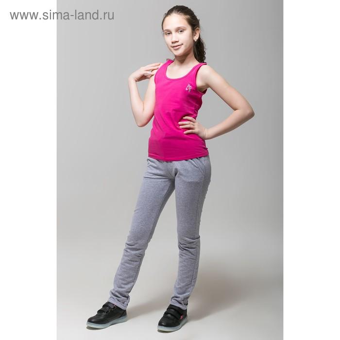 Майка для девочки, рост 158 см, цвет фуксия CAJ 61162