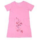 Платье женское 30449, цвет розовый, принт МИКС, р-р 50