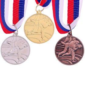 Медаль тематическая 119 'Каратэ' золото Ош