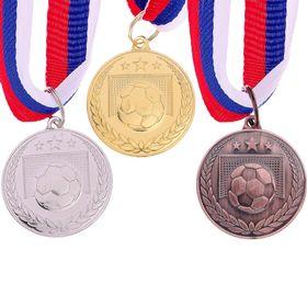 Медаль тематическая 116 'Футбол' золото Ош