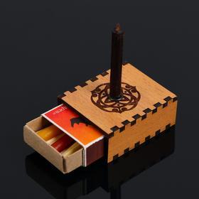 Набор ларец желаний 'Достижение успеха' со свечками, 5,2х4,5х2 см Ош