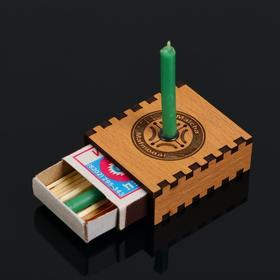 Набор ларец желаний 'Возврат долгов' со свечками, 5,2х4,5х2 см Ош