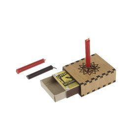Набор ларец желаний 'Личная эффективность' со свечками, 5,2х4,5х2 см Ош