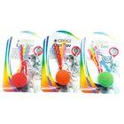 """Игрушка для кошек """"Мячик на резинке"""", 4 см, цвет в ассорт."""
