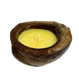 Cвеча в кокосе, цитронелла Ош