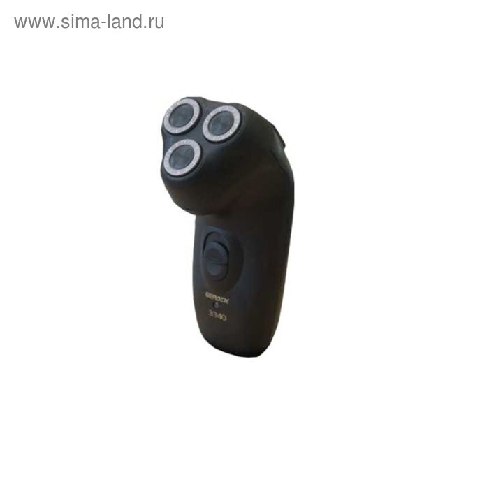 Бритва электрическая Бердск 3340M, 100-240 В,сухое бритье, черная
