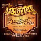 Комплект струн для контрабаса размером 3/4, La Bella RC610