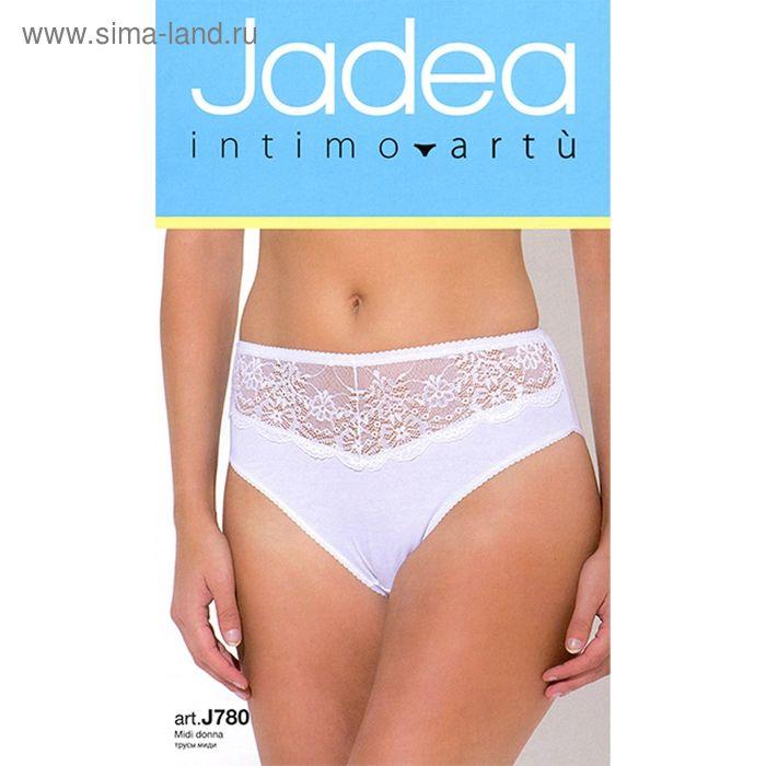 Трусы женские JADEA J780 slip midi цвет bianco, размер 6